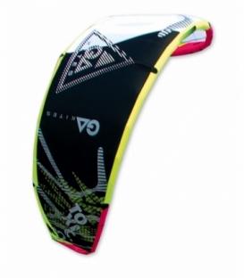 GAASTRA Kite Toxic Black/Yell 10,0 (2015)
