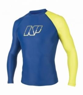 NEILPRYDE Lycra Pipe L/S Modrá/Žltá S (2017)