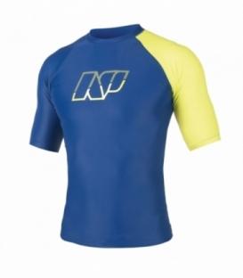 NEILPRYDE Lycra Pipe S/S Modrá/Žltá XS (2017)