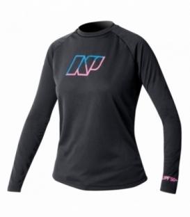 NEILPRYDE Lycra NP Ladies' L/S Čierna M (2017)