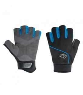 NEILPRYDE Neoprénové Rukavice Half Finger Amara Glove Čierna/Modrá XL (2017)