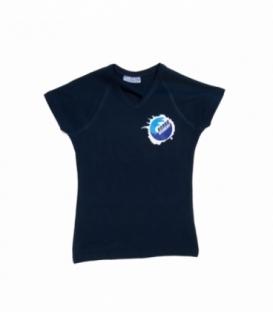 BOARD ACADEMY Tričko Dark Blue - Xs