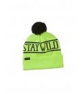 AIRBLASTER Zimná Čiapka Stay Wild Pom Beanie Hot Yellow