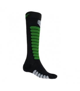 SENSOR ponožky ZERO MERINO čierna/safari 9 - 11