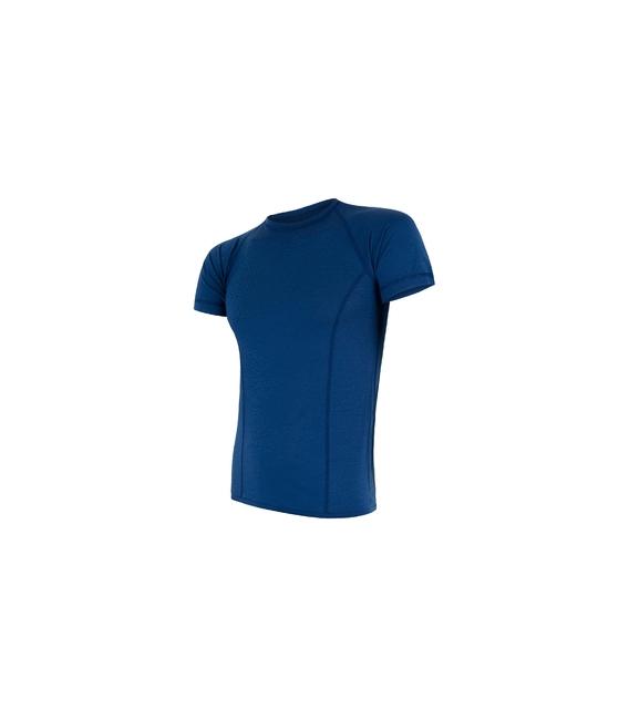 SENSOR termoprádlo MERINO AIR pánske tričko kr. rukáv TM.MODRÁ - M