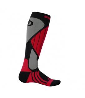 SENSOR Ponožky Snow Pro ČERVENÁ - 9-11