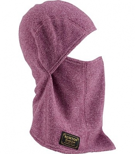 BURTON Balaclava Ember Fleece Sangria Heather S/M