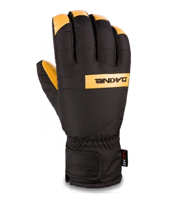 DAKINE Zimné Rukavice Nova Short Glove Black/Tan - XL