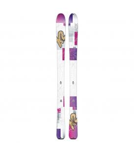 K2 Lyže Talkback 14/15 160 cm + pásy + palice