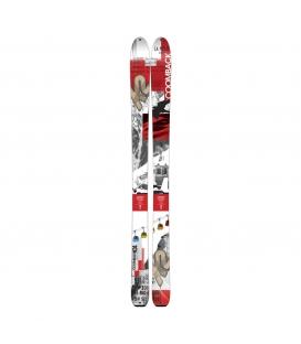K2 Lyže Comeback 14/15 170 cm + pásy + palice