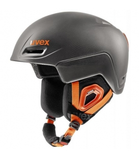 UVEX Prilba Jimm Grey-Black-Orange mat 59 - 61 cm