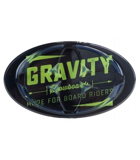 GRAVITY Snb Grip Jeremy Mat Black/Lime