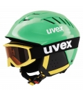 UVEX Prilba Junior SET Green 52-55