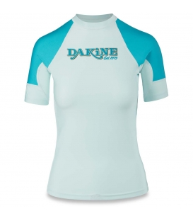 DAKINE Lycra Women's Flow Snug Fit S/S Bay Islands S