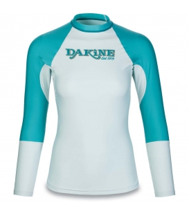 DAKINE Lycra Women's Flow Snug Fit L/S Bay Islands XS