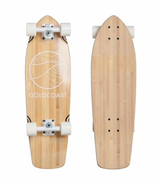 GOLDCOAST Longboard Classic Cruiser Bamboo