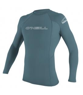 O'NEILL Lycra Basic Skins L/S Rash Guard Dusty Blue - M