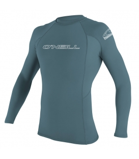 O'NEILL Lycra Basic Skins L/S Rash Guard Dusty Blue - S