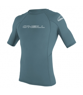 O'NEILL Lycra Basic Skins S/S Rash Guard Dusty Blue - S