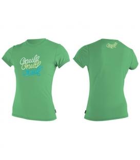 O'NEILL Lycra Girls Premium Skins S/S Sun Shirt Mint - 10