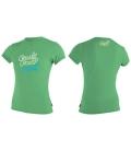 O'NEILL Lycra Girls Premium Skins S/S Sun Shirt Mint - 12
