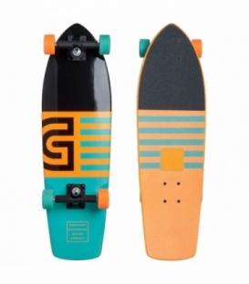GOLDCOAST Longboard Jetty Cruiser Orange
