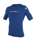O'NEILL Lycra Basic Skins S/S Rash Guard Pacific - XL