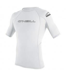 O'NEILL Lycra Basic Skins S/S Rash Guard White - XL