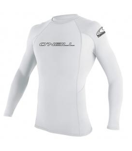 O'NEILL Lycra Basic Skins L/S Rash Guard White - XL