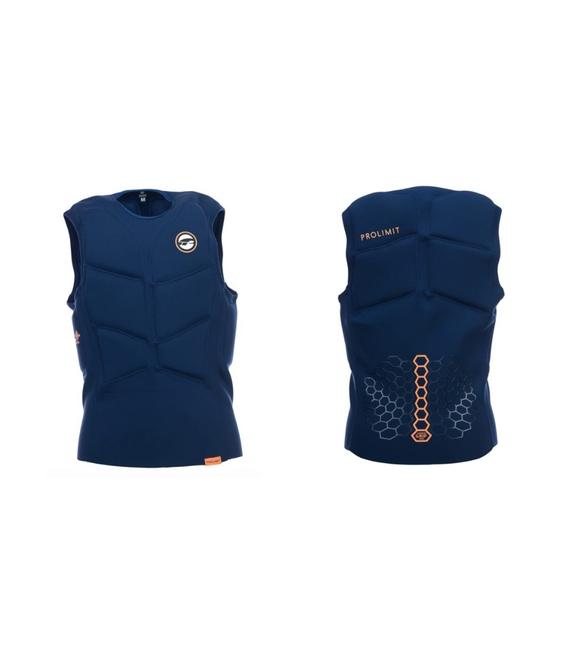 PROLIMIT Vesta Stretch Vest Half Padded Blue/Orange - S