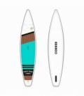 CORNER Paddleboard Cruise 12' Aqua - JAZDENÝ + Hliníkové pádlo ZDARMA