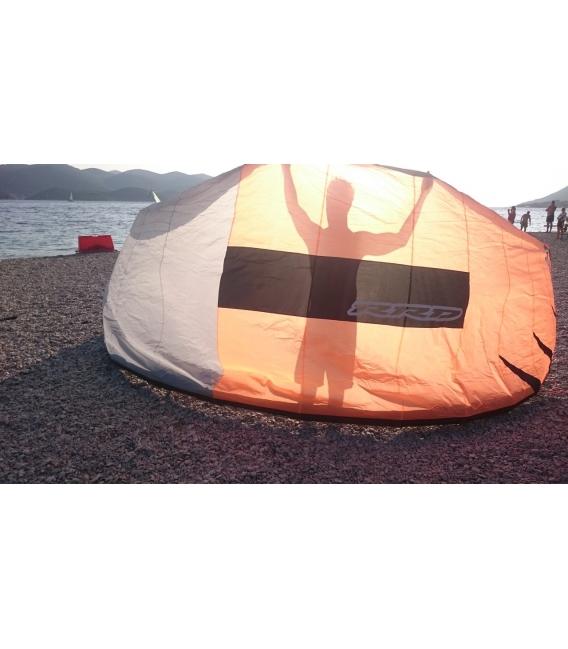 RRD Kite Emotion orange/grey 14.5 MK2 + RRD Bar V5 - TESTOVANÝ