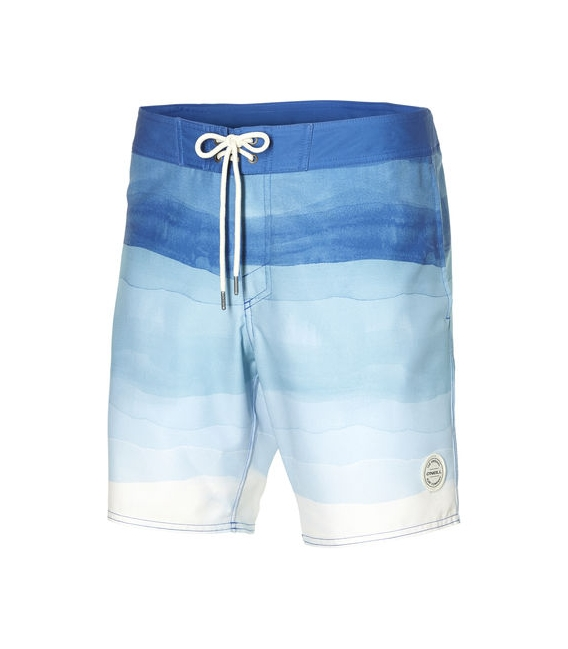 O'NEILL Boardshortky Mid freak horizon boardshorts white AOP/blue 34