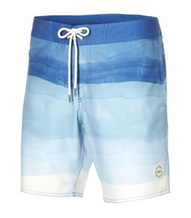 O'NEILL Boardshortky Mid freak horizon boardshorts white AOP/blue 32