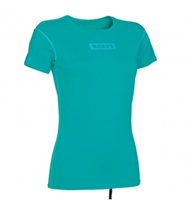 ION Lycra WMS Promo Rashguard SS Turquoise L