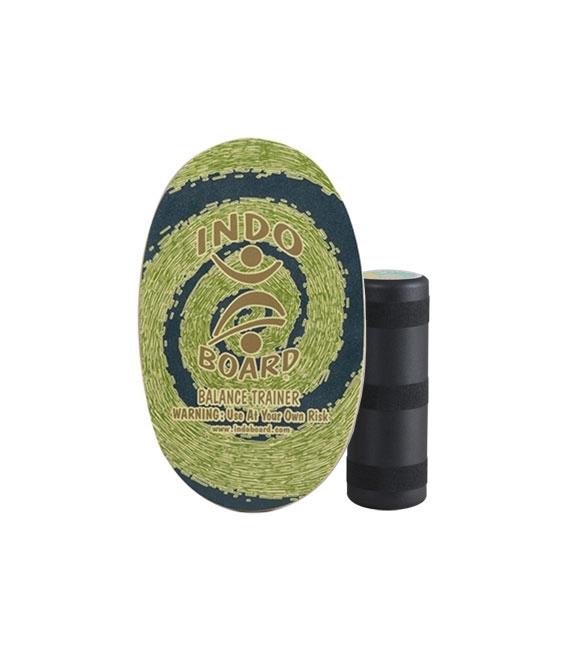 INDO BOARD Balansovacia doska Indo Original Green + Roller