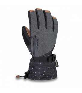 DAKINE Zimné rukavice Leather Sequoia Glove Kiki - XS