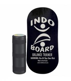 INDO BOARD Balansovacia doska Indo Rocker Board Black + Roller