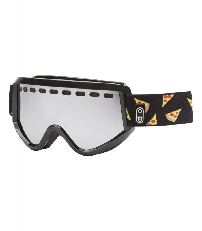 AIRBLASTER Okuliare Pizza Air Goggle - Black  ae93527391b