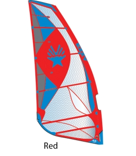 EZZY SAILS Plachta Cheetah RED 7.0 (2019)