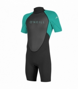 O'NEILL Neoprén Youth Reactor II BZ 2mm Spring Black/Light aqua 10