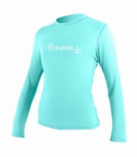 O'NEILL Lycra WMS Basic Skins L/S Sun Shirt Seaglass M