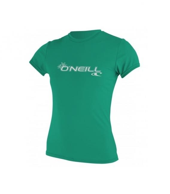 O'NEILL Lycra WMS Basic Skins S/S Sun Shirt Seaglass XS