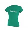 O'NEILL Lycra WMS Basic Skins S/S Sun Shirt Seaglass L