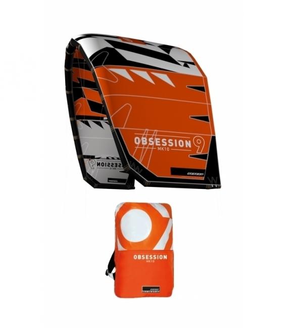 RRD Kite Obsession orange/grey 13,5 MK10 - NOVÝ