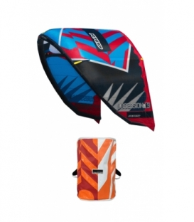 RRD Kite Obsession cyan/red 7 MK9 - Second Hand