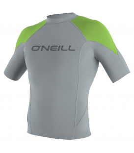 O'NEILL Neoprén Hammer 1MM S/S Crew COOLGRY/DGLO/BLK - XXL