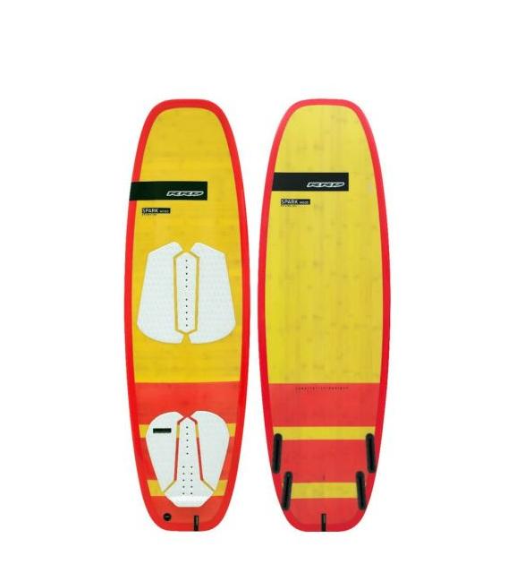 RRD Kiteboard Spark 5'5 wood + fin set