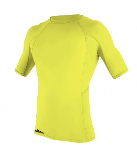 O'NEILL Lycra Surf School S/S Crew Yellow - S
