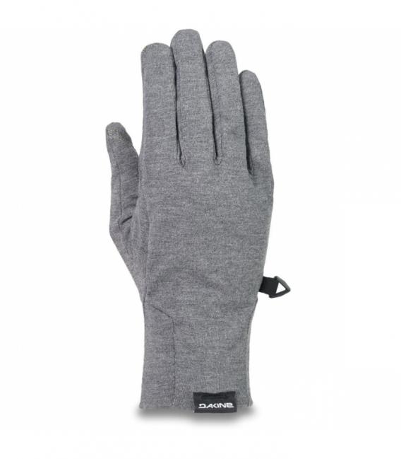 DAKINE Zimné rukavice WMS Syncro Wool Liner Glove Gunmetal - S